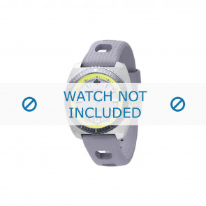 Zodiac cinturino dell'orologio ZO2262 Gomma Grigio