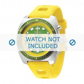 Cinturino orologio Zodiac in silicone giallo ZO-2241