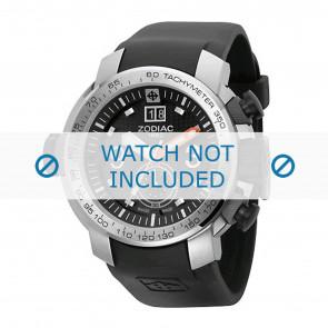 Zodiac cinturino dell'orologio ZO8505 Gomma Nero 28mm