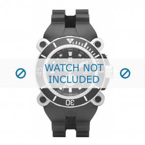 Zodiac cinturino dell'orologio ZO8532 Gomma / plastica Nero
