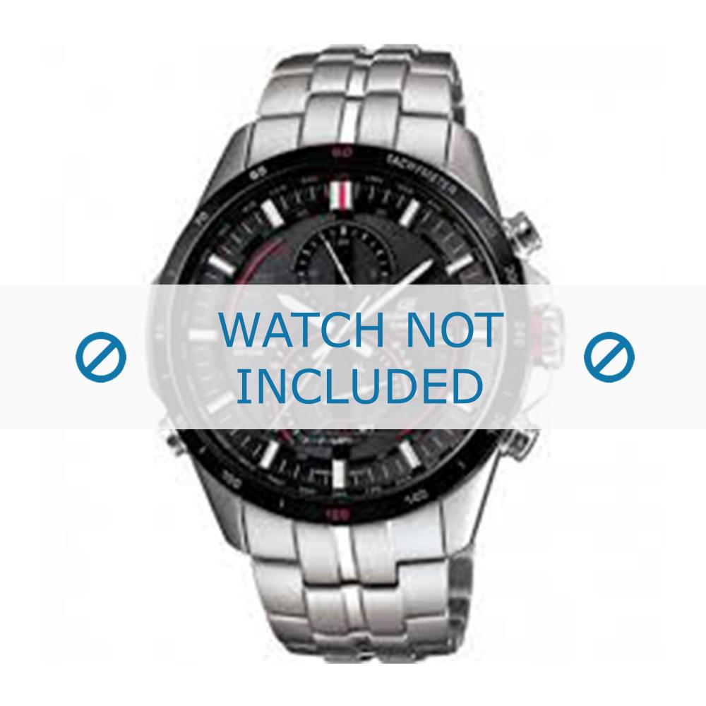 0539cd64a1e48e Casio cinturino dell'orologio EQS-A500DB-1AVER / 10427996 Metallo Argento  22mm