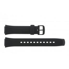 Cinturino per orologio WVA-105H-1AV / WL-S21H-1AV / WL-S21 / 10125561 Plastica Nero 16mm