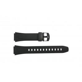 Cinturino per orologio Casio W-753 / 10179406 Plastica Nero 18mm