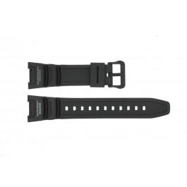 Cinturino per orologio Casio SGW-100-1V / SGW-100 Plastica Nero 24mm