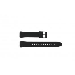 Cinturino per orologio Casio AW-90H-2BV / AW-90H Plastica Nero 15mm