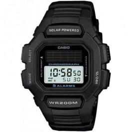 Cinturino per orologio Casio HDD-S100 / W-S220 / 10395874 Gomma Nero 16mm