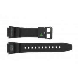 Cinturino per orologio Casio SGW-450H-1A / 10500870 Plastica Nero 18mm
