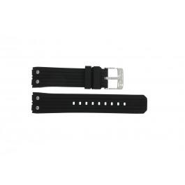 Cinturino per orologio Lotus 15969-1 Gomma Nero 23mm