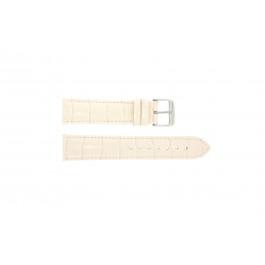 Cinturino per orologio Universale 285R.15 Pelle di coccodrillo Rosa 20mm