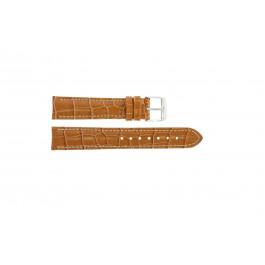 Cinturino per orologio Universale 285.27 Pelle di coccodrillo Marrone 22mm