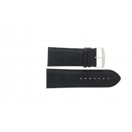 Cinturino per orologio Universale 305R.01 Pelle Nero 28mm