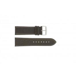 Cinturino per orologio Universale 307L.02 XL Pelle Marrone 24mm