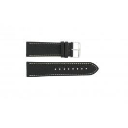 Cinturino per orologio Condor 307R.01 Pelle Nero 24mm