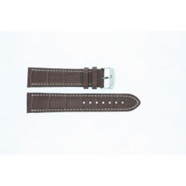 Cinturino per orologio Universale 308R.02 Pelle Marrone 20mm