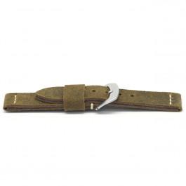 Cinturino per orologio Universale H326 Pelle Marrone 22mm