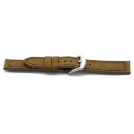 Cinturino per orologio Universale E337 Pelle Marrone 16mm