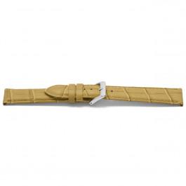 Cinturino per orologio Universale D339 Pelle Beige 14mm
