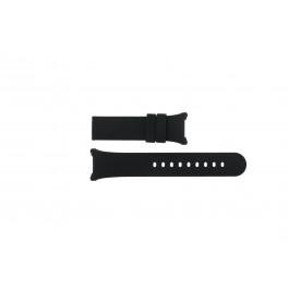 Cinturino per orologio Boccia 3782-01 / 3521-01 / 3528-01 / 3783-03 Silicone Nero 14mm