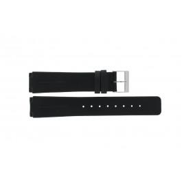 Cinturino per orologio Skagen 433LSLB Pelle Nero 20mm