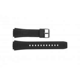 Cinturino per orologio Casio EF-552PB-1A2V Silicone Nero 20mm