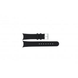 Cinturino per orologio Skagen 582SSLC Pelle Nero 20mm