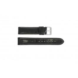Cinturino per orologio Universale 61324.10.18 Pelle Nero 18mm
