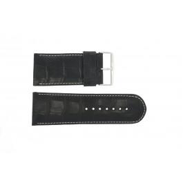 Cinturino per orologio Universale 61324EB.10.36 Pelle Nero 36mm