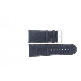 Cinturino per orologio Universale 61324.00.36 Pelle Blu 36mm