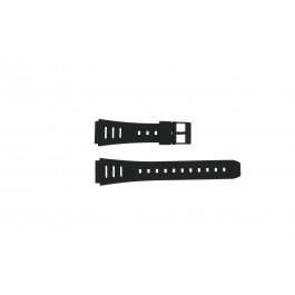 Casio cinturino orologio 71603087 Plastica Nero 19mm