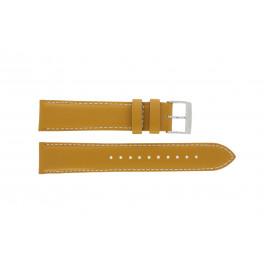 Cinturino per orologio Seiko 7T94-0AV0 / SNN169P1 Pelle Marrone 20mm