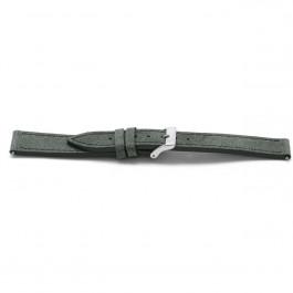 Cinturino orologio in pelle, grigio, 18mm EX-F817