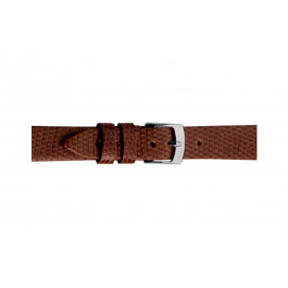 Morellato cinturino dell'orologio Livorno D0116372041CR08 / PMD041LIVORL08 In pelle di lucertola Marrone 8mm