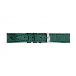 Morellato cinturino dell'orologio Violino Gen.Lizard X2053372072CR10 / PMX072VIOLIN10 In pelle di lucertola Verde 10mm + cuciture di default