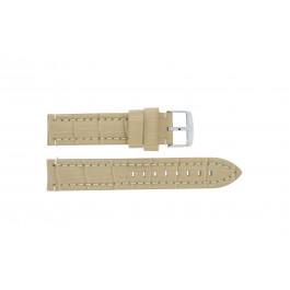 Cinturino per orologio Davis B0284 Pelle Marrone 20mm
