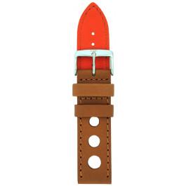 Cinturino per orologio Davis B0321 Pelle Marrone 22mm