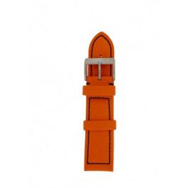 Cinturino per orologio Davis BB1026O Pelle Arancione 22mm
