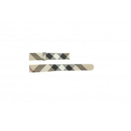 Cinturino per orologio Burberry BU1062 / BU1066 / BU1060 / BU1068 Pelle Multicolore 14mm