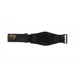 Cinturino per orologio Camel Active CM1001 / BC51070 Velcro Camuffare 26mm