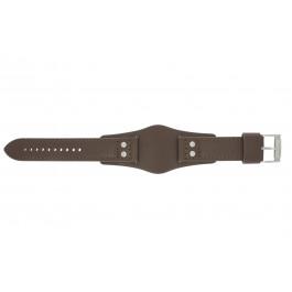 Cinturino per orologio Fossil CH2565 Pelle Marrone 22mm