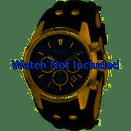 Cinturino per orologio Fossil CH2615 Pelle Nero 22mm