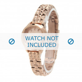 Cinturino per orologio Diesel DZ5412 Acciaio inossidabile Placcato oro 10mm