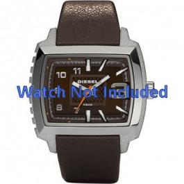 Diesel cinturino dell'orologio DZ1364 Pelle Marrone scuro 25mm
