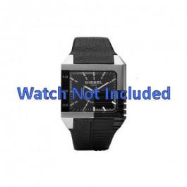 Cinturino per orologio Diesel DZ1397 Pelle Nero 26mm