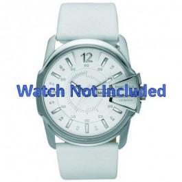 Cinturino per orologio Diesel DZ1405 Pelle Bianco 28mm