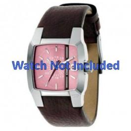 Cinturino per orologio Diesel DZ5100 Pelle Marrone 18mm