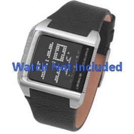 Cinturino per orologio Diesel DZ7094 Pelle Nero 24mm