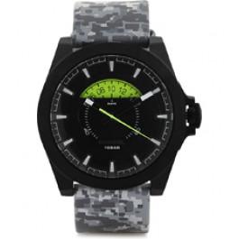 Cinturino per orologio Diesel DZ1658 Pelle Grigio 28mm