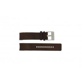 Cinturino per orologio Diesel DZ4038 / DZ4041 Pelle Marrone 22mm