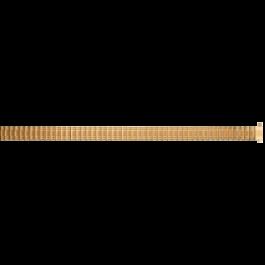Cinturino per orologio Universale EB607 Acciaio Placcato oro 8-10mm