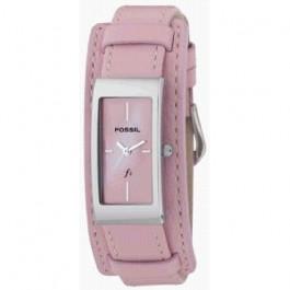 Cinturino per orologio Fossil ES9859 Pelle Rosa 14mm